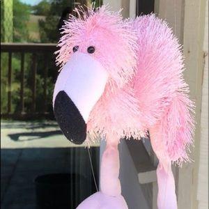 Marionettes Pink Flamingo Plush String Puppet